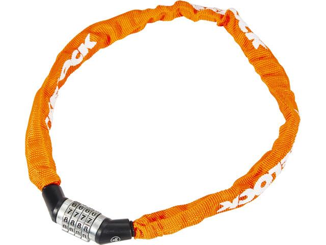 Trelock BC 115 Code candado de cadena 60 cm, orange
